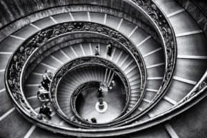 Un rêve d'escalier et on interprétation: