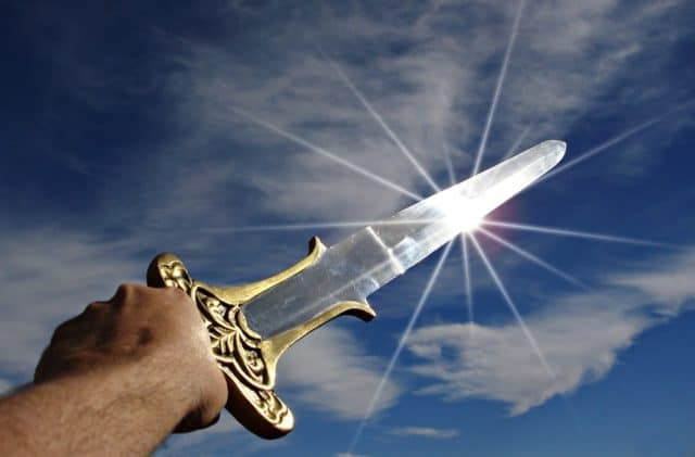 Que signifie rêver d'épée ?