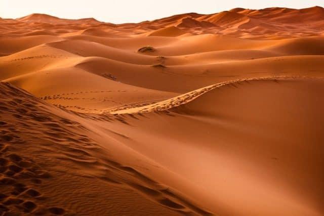 Pourquoi rêver de sable ?