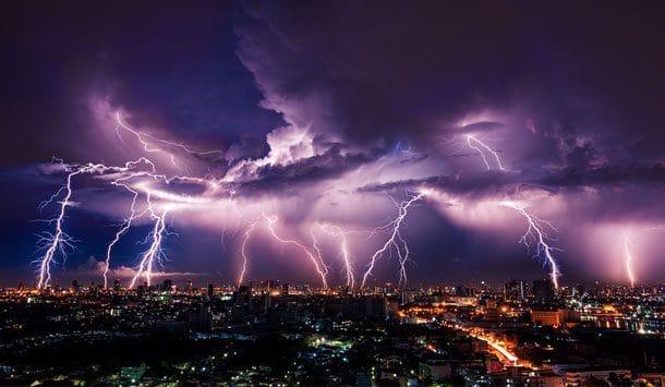 Un cauchemar d'orage et de tonnerre: