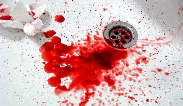 Les cauchemars de sang.