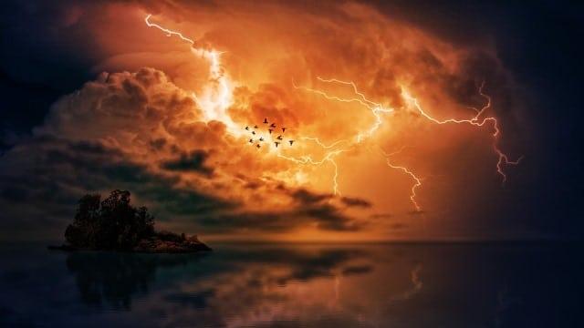 Le rêve d'orage et sa signification: