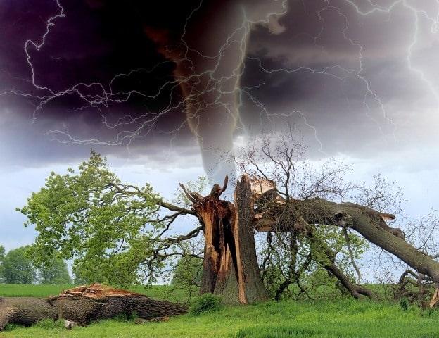 Le rêve d'ouragan et sa signification: