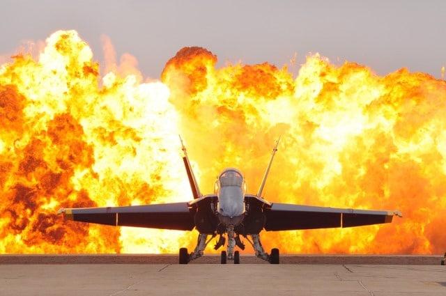 Que signifie un rêve d'avion en feu ?