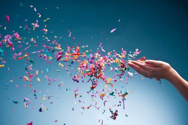 Que signifie un rêve de confettis ?